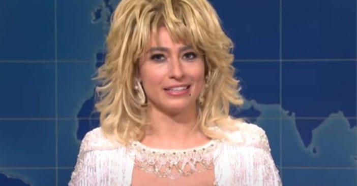 'SNL' Actress Impersonates The Incredible Dolly Parton