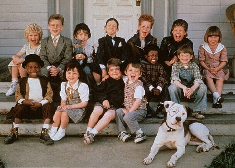 little rascals cast photo