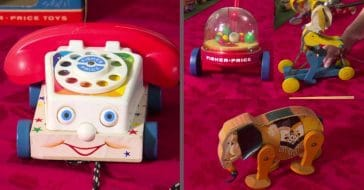 90 years of fisher-price