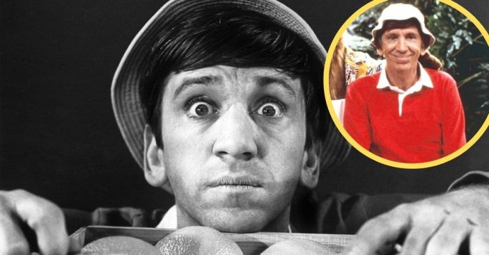 Actor Bob Denver then and after