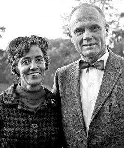 Advocate Annie Glenn and astronaut husband John Glenn
