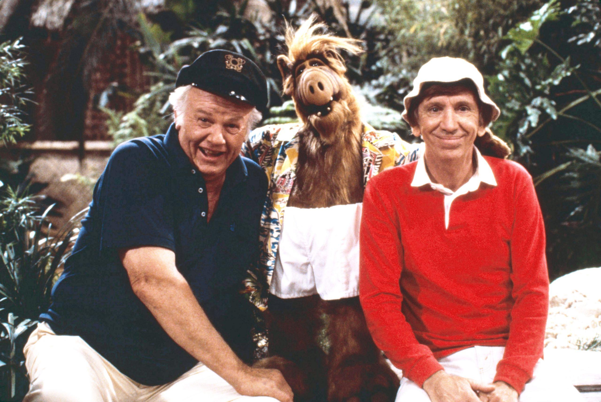 Alan Hale Jr., Alf, and Bob Denver