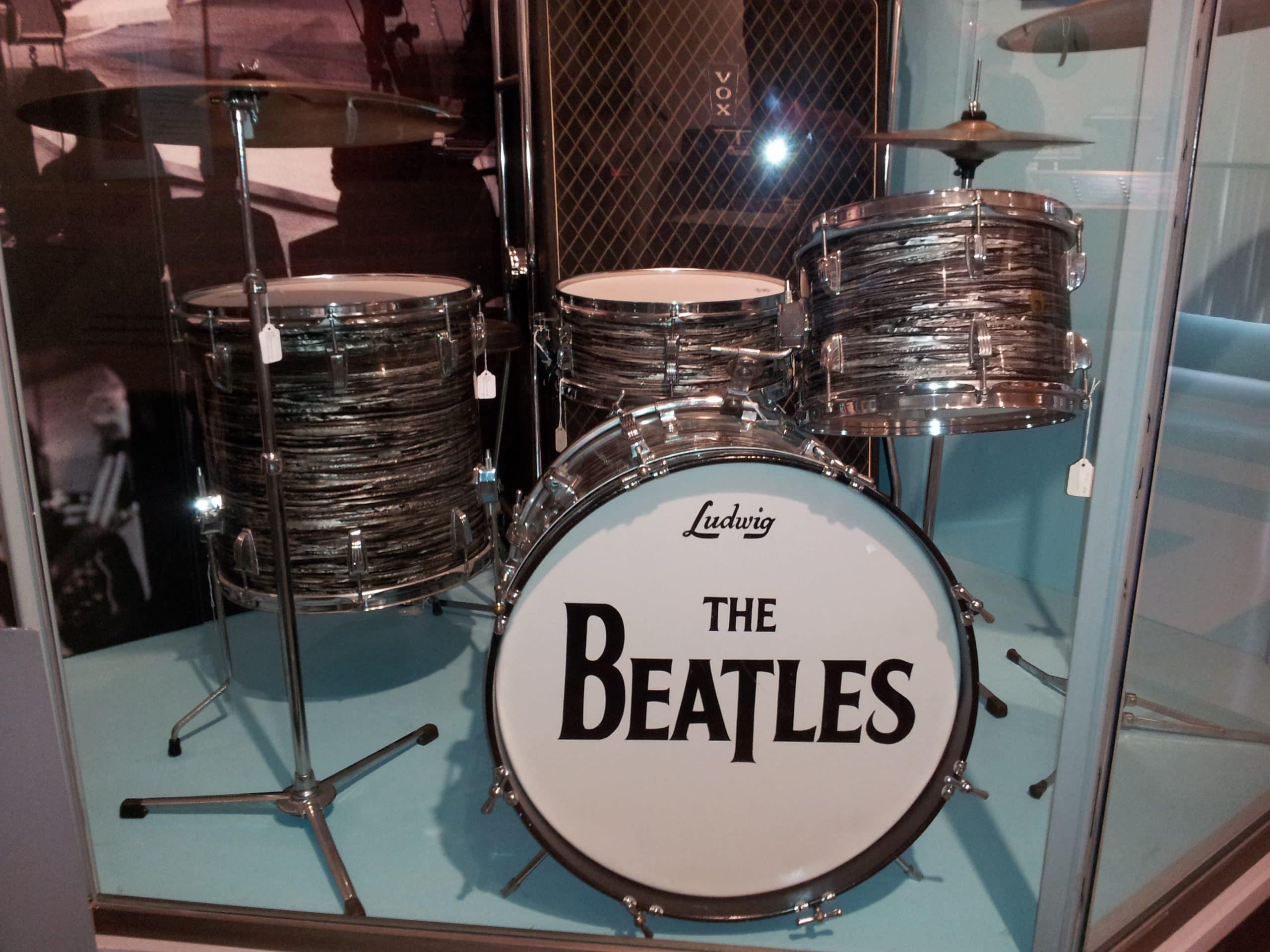 The Beatles Ludwig Drum Set