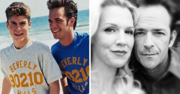 Beverly Hills 90210 stars pay tribute to the late Luke Perry on his birthday