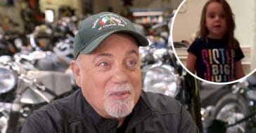 Billy Joel shares cute video of his young daughter singing