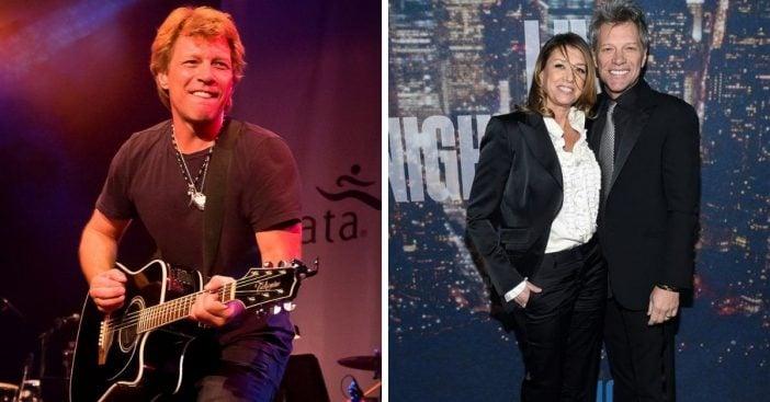 Bon Jovi and Dorothea Hurley