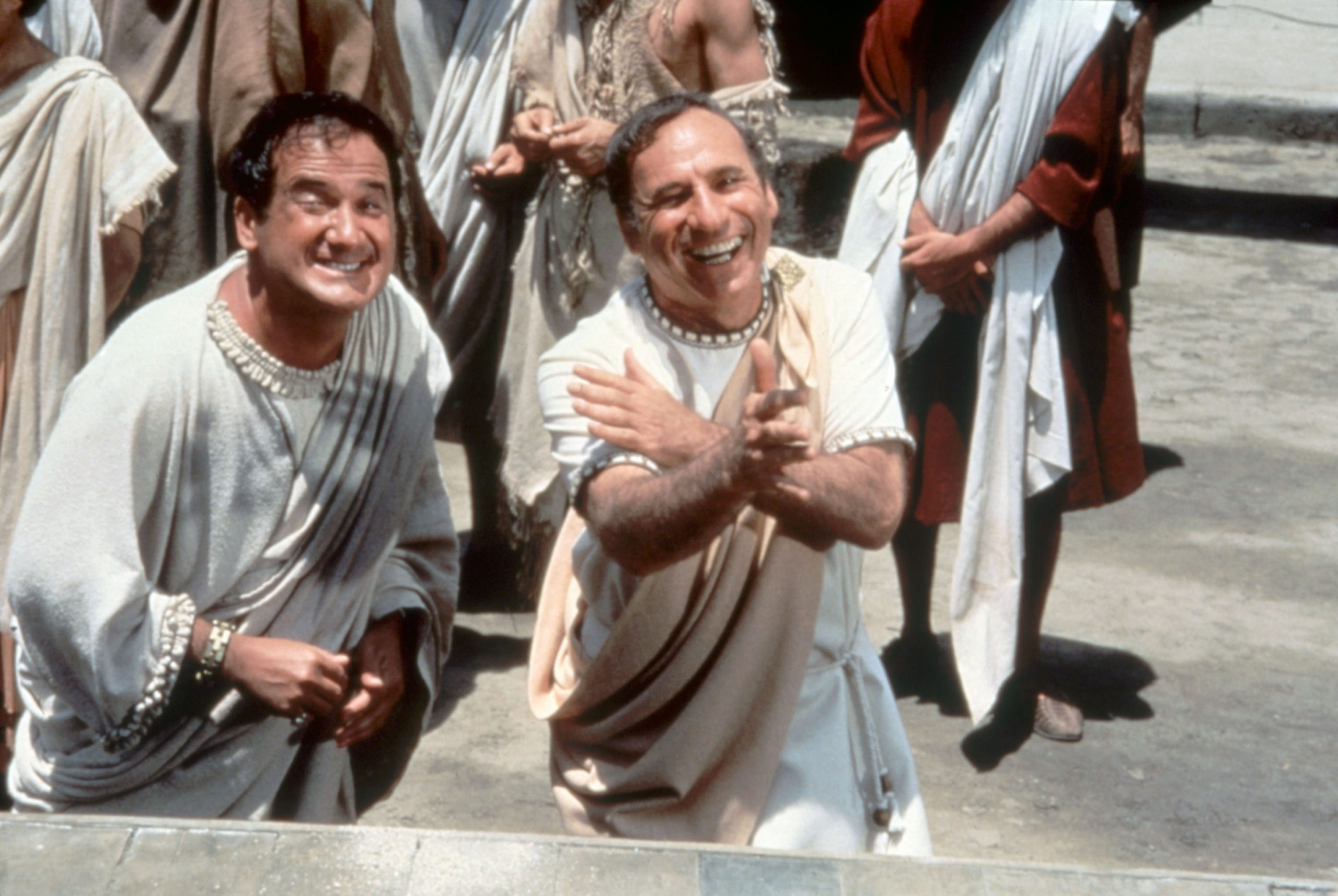 Carey and Mel Brooks in HIstory of the World Part 1