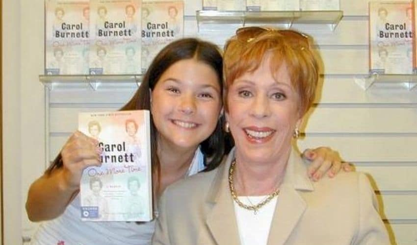 Carol Burnett And Sara Niemietz