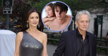 Catherine Zeta-Jones got some quality time with Dylan and Cerys over the summer