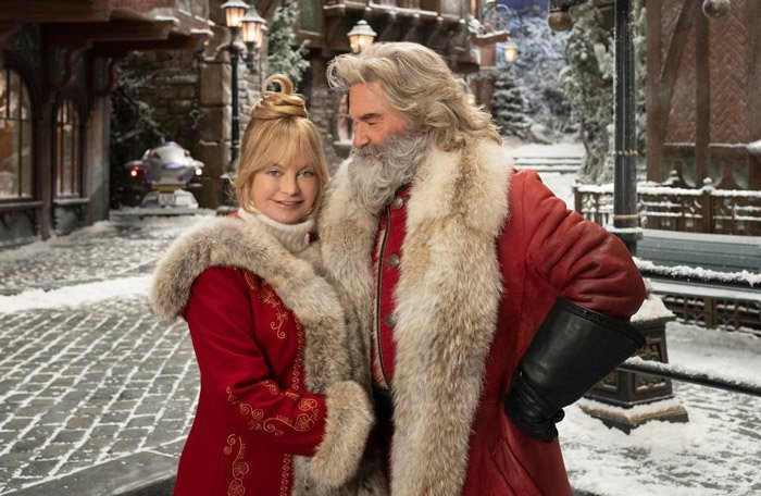 Goldie Hawn and Kurt Russell in 'The Christmas Chronicles 2'