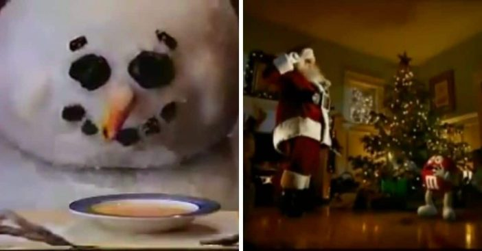 classic christmas commercials