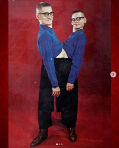 Conjoined twins Ronnie and Donnie Galyon