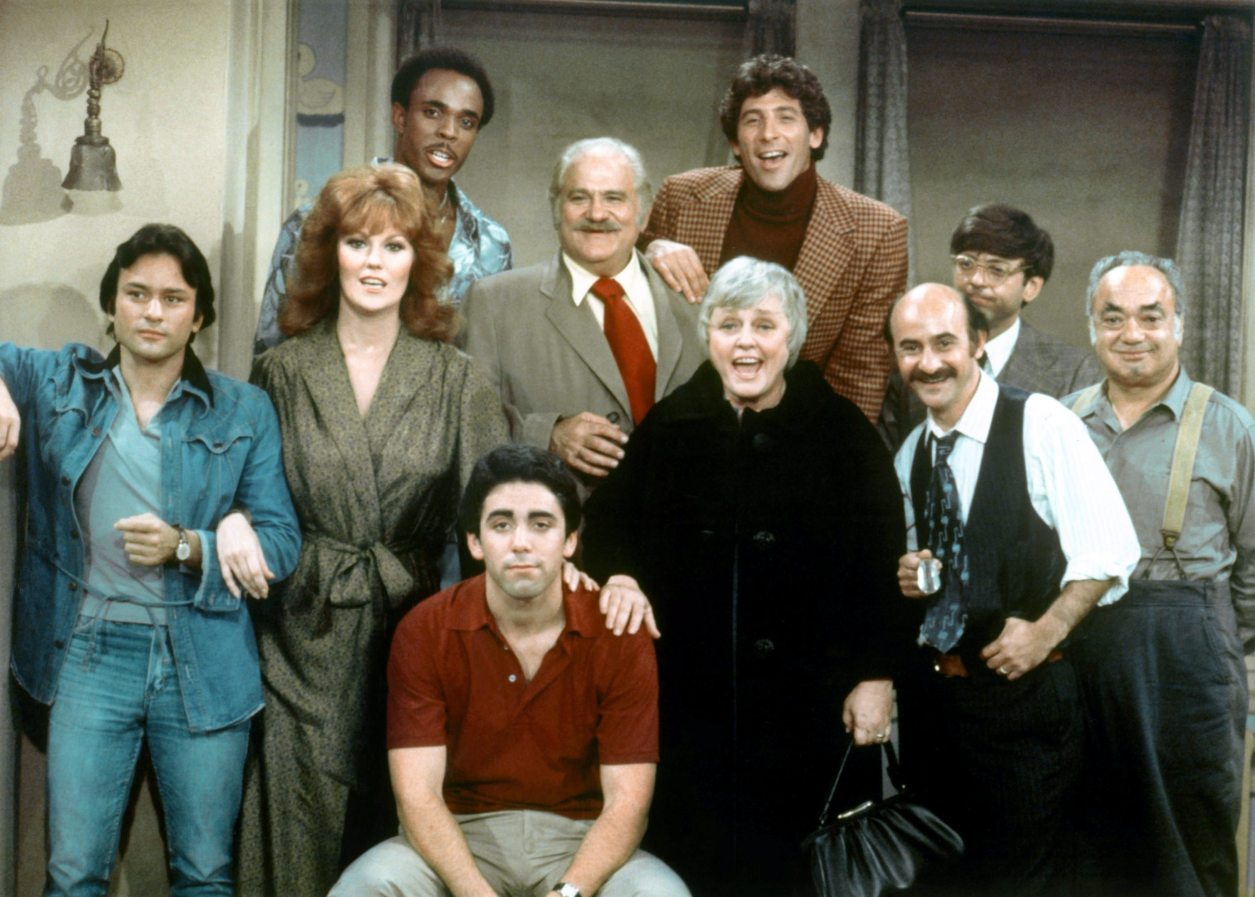 Danny Goldman, second from right