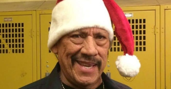 Danny Trejo Donated Food To Over 800 Families Before Christmas