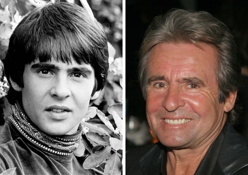 davy jones then and now