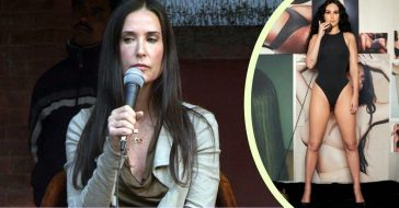 Demi Moore and Rumer Willis could be twins