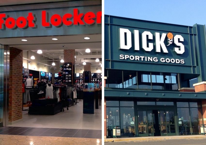 foot locker and dicks