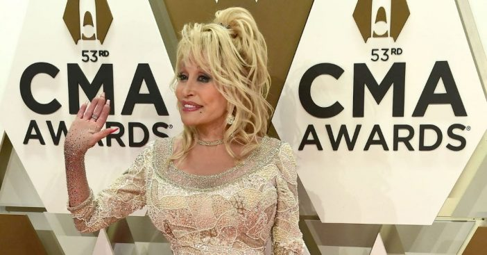 Dolly Parton is always hair and makeup ready in case of an emergency