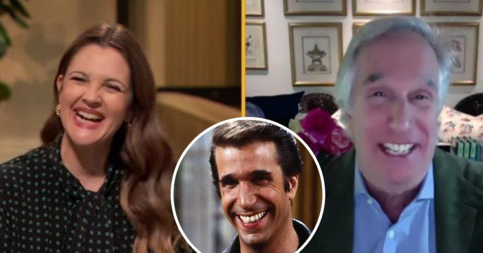 Drew Barrymore says Henry Winkler changed her life