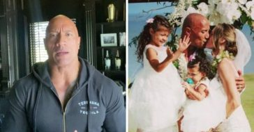 Dwayne Johnson says that he and his family all got coronavirus