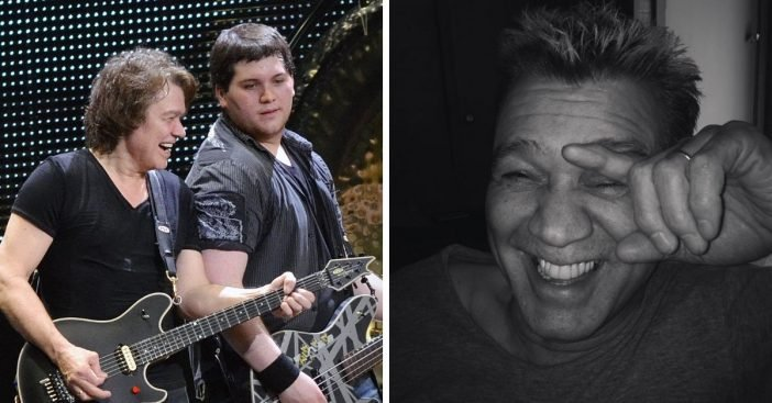 Eddie Van Halens son Wolfgang shares touching tribute to late father