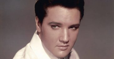 Elvis Presley reportedly dyed his hair and had webbed toes