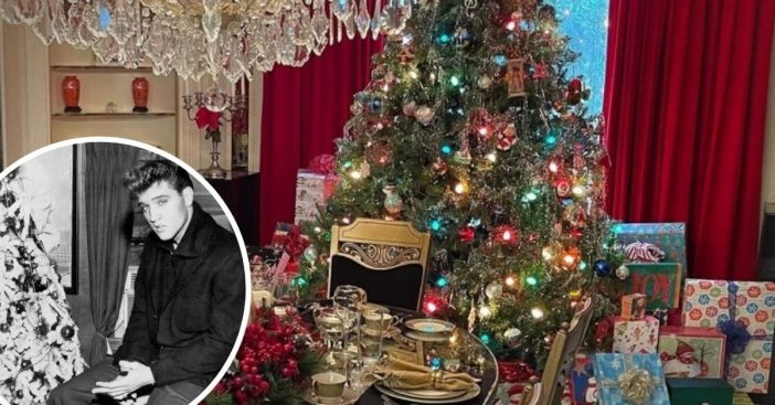 Elvis Presleys cousins recall Christmas at Graceland