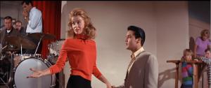 Elvis met Ann-Margret through work