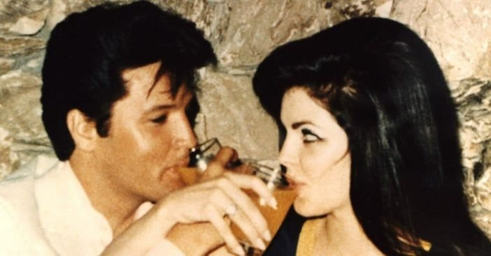 Elvis never saw Priscilla Presley without makeup on
