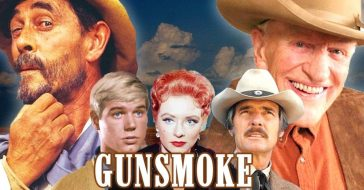 Gunsmoke cast then and now