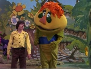 H.R. Pufnstuf had a lot of colorful, almost trippy, imagery