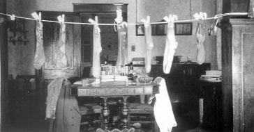 Hanging stockings began with a legend and a troubled family