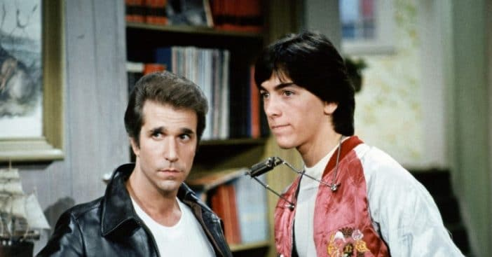 Henry Winkler responds to Scott Baio comments about Happy Days reunion