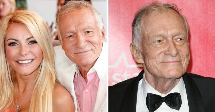 Hugh Hefners wife shares a tribute to him on the third anniversary of his death