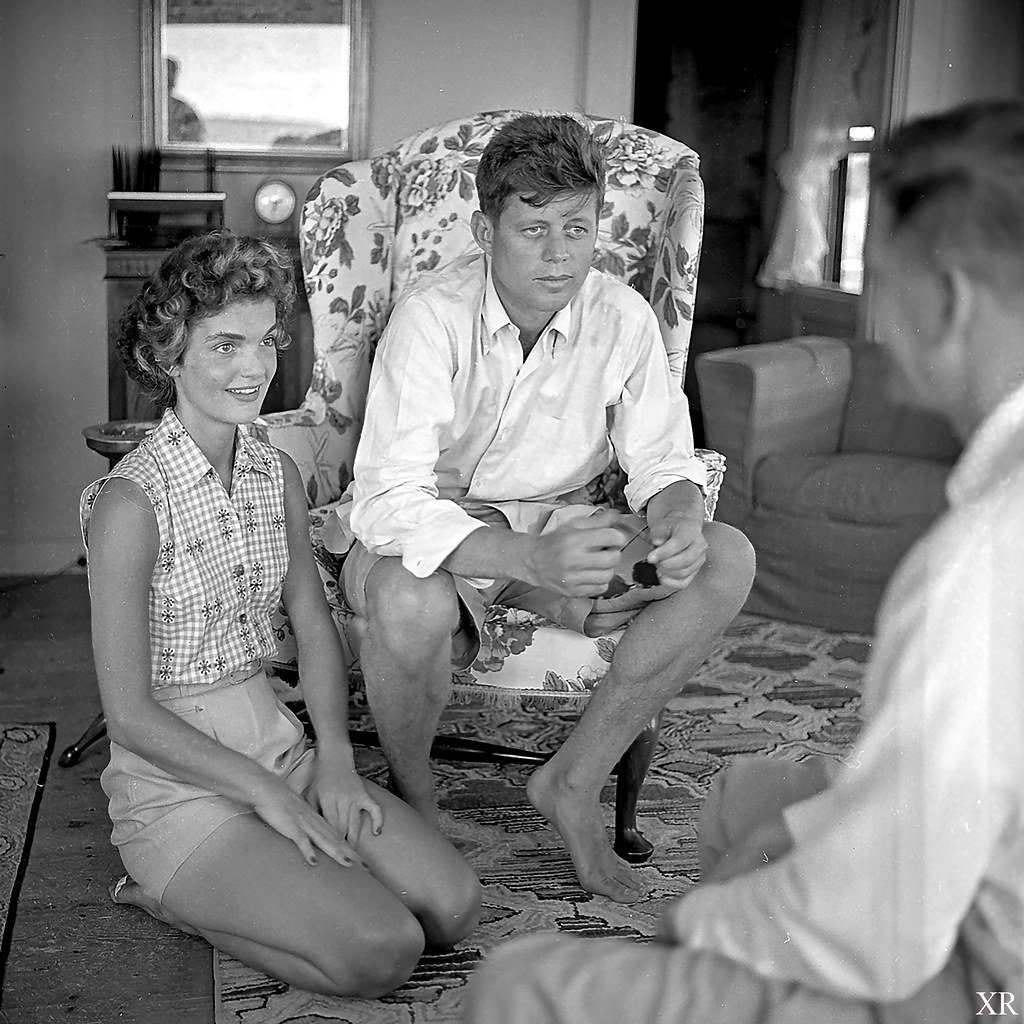 JFK and Jackie Kennedy