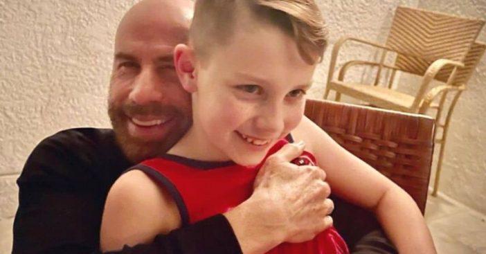 John Travolta shares rare photo of his son Benjamin to celebrate his birthday