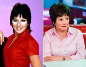 Joyce DeWitt then and now