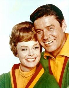 June Lockhart and Guy Williams