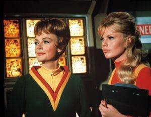 June Lockhart and Marta Kristen in Lost in Space