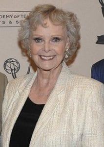 June Lockhart, formerly Dr. Maureen Robinson, today