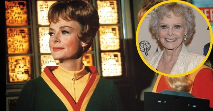June Lockhart then and now
