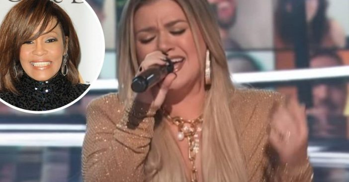 Kelly Clarkson and Pentatonix cover Whitney Houstons song Higher Love