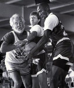 Kenny Rogers vs Michael Jordan in basketball, 1988