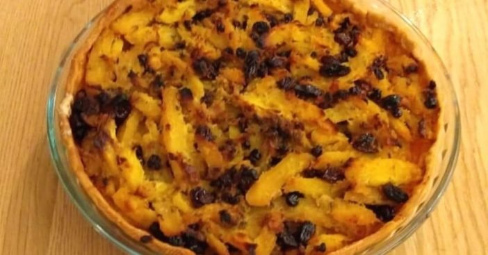 Learn how to make the vintage recipe for pumpion pie