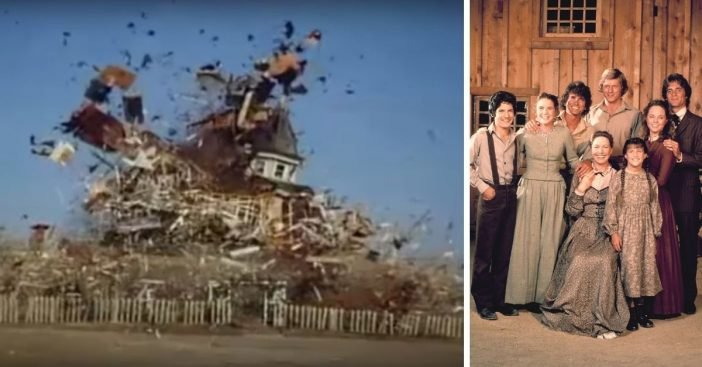 Learn more about the explosion at the end of Little House on the Prairie