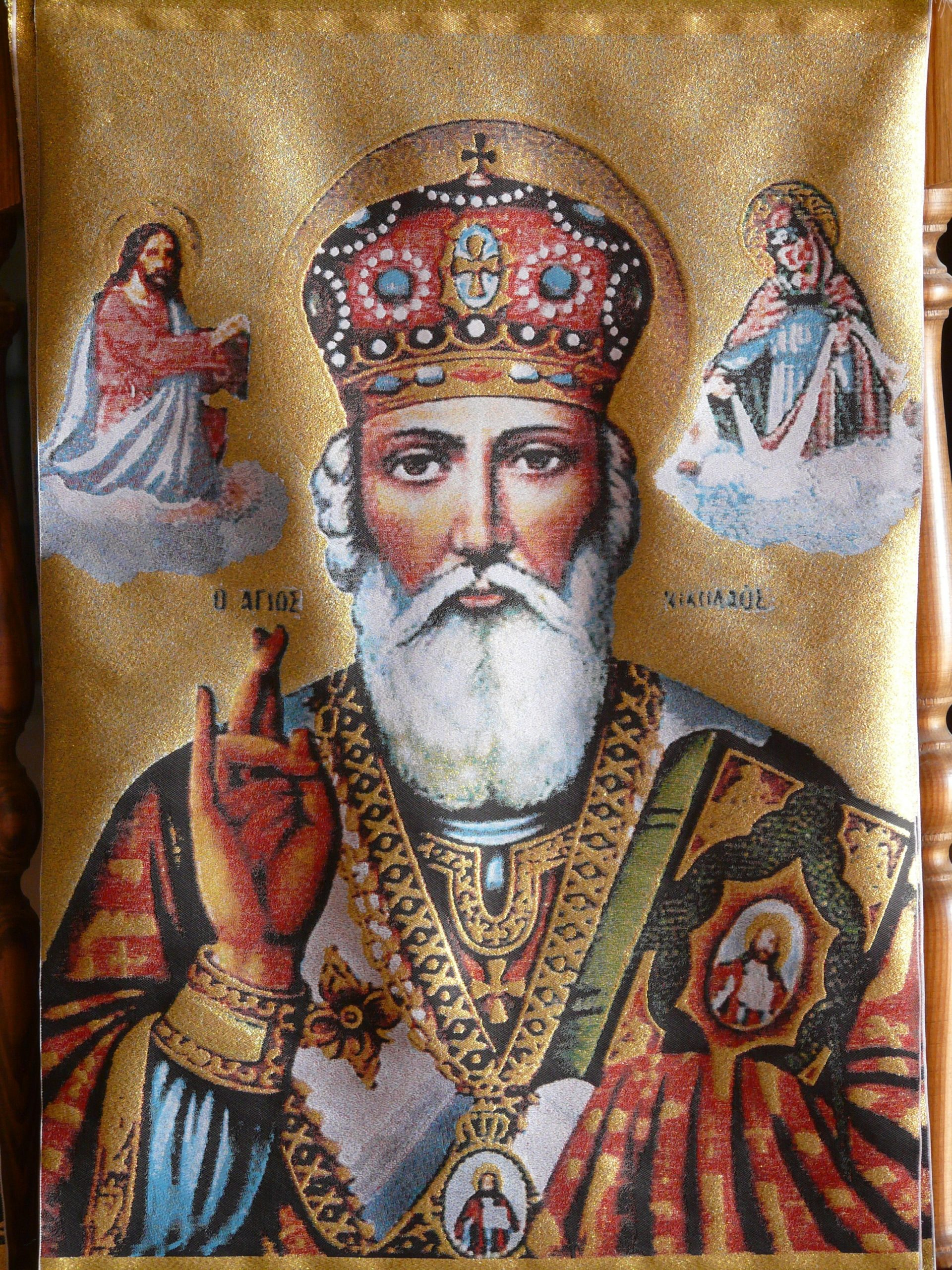 Legends tell of Saint Nicholas's acts of charity