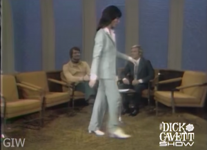 Lily Tomlin promptly left The Dick Cavett Show after Chad Everett's sexist remark