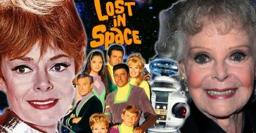 'Lost in Space' cast then and now