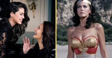 Lynda Carter and Jessica Altman