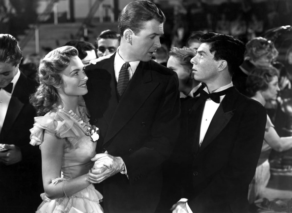 donna-reed-james-stewart-carl-switzer-its-a-wonderful-life